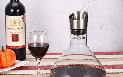 comparatif carafe à decanter le vin